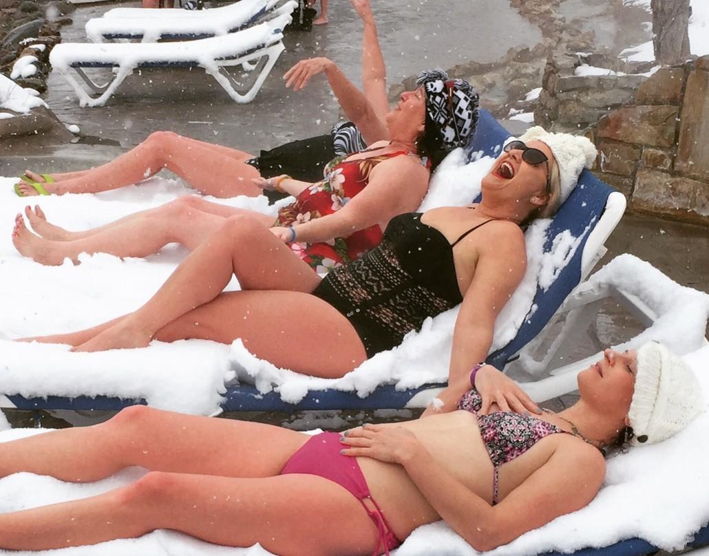 Pagosa Snow Lawnchairs