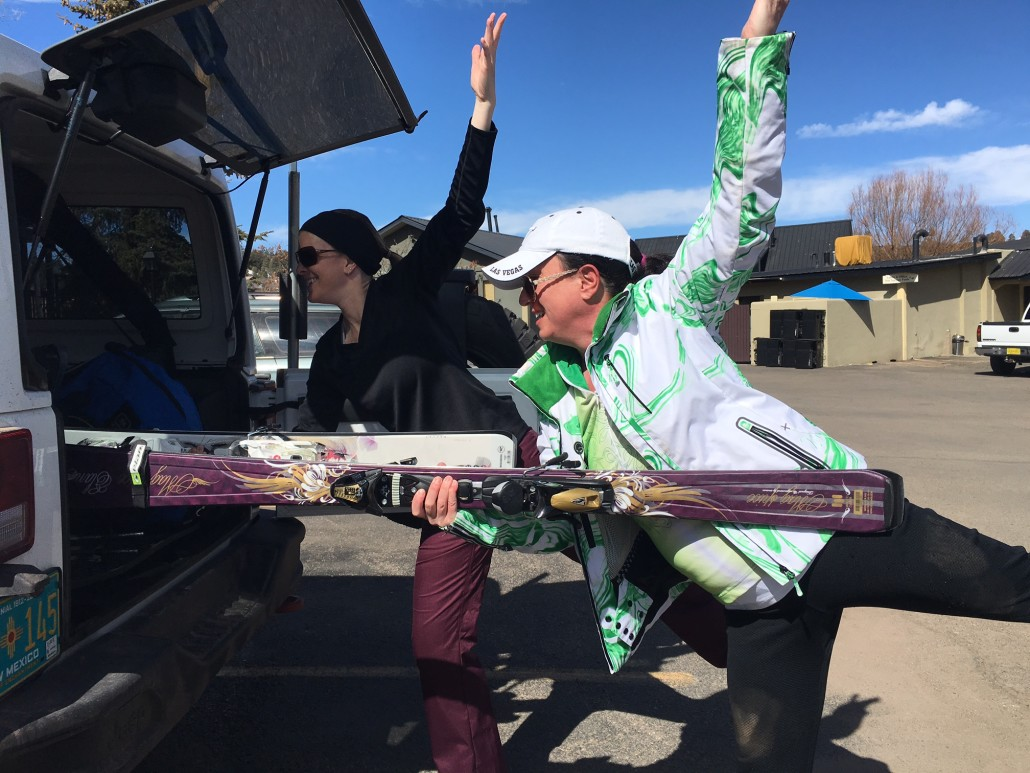 Pagosa Ski Prep Poses - Emily Branden