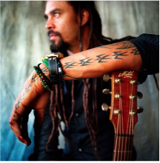 Michael Franti performs with Emily Branden